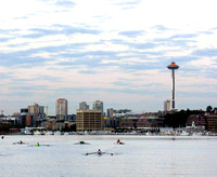 Crew on Lake Union Seattle WA